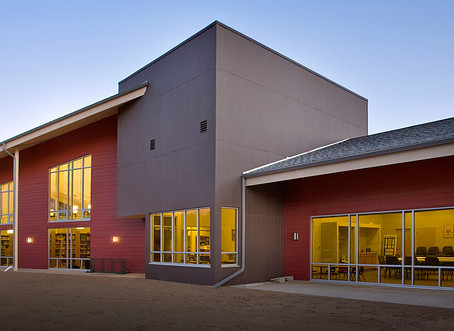 Paonia Public Library wins Gold Hard Hat Award for MW GOLDEN CONSTRUCTORS and Team
