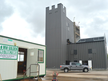 Construction underway for New Fire Training Tower