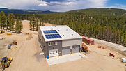MW GOLDEN CONSTRUCTORS, a General Contractor in Castle Rock, CO completed the new build Nederland Public Works Facility in the high altitude town of Nederland, CO
