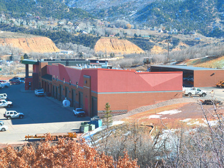 MW GOLDEN CONSTRUCTORS completes Glenwood Springs Municipal Operations Center Foundation Repairs