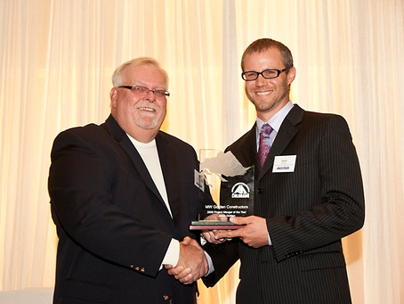 MW GOLDEN CONSTRUCTORS Jason Golden Voted as Project Manager of the Year