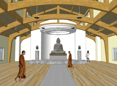 Buddhist Meditation Hall Breaks Ground in Morrison