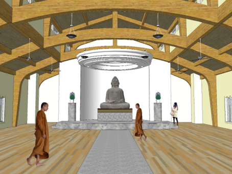 Buddhist Meditation Hall Breaks Ground in Morrison