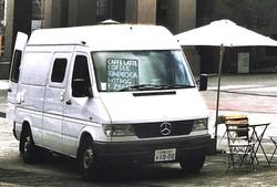 移動式コーヒースタンド|Mercedes-Benz Transporter