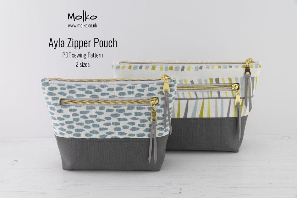 Ayla Zipper Pouch PDF MOLKO