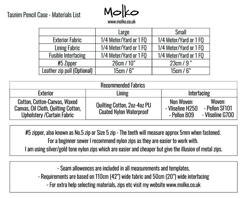 Tasnim Pencil Case PDF MOLKO
