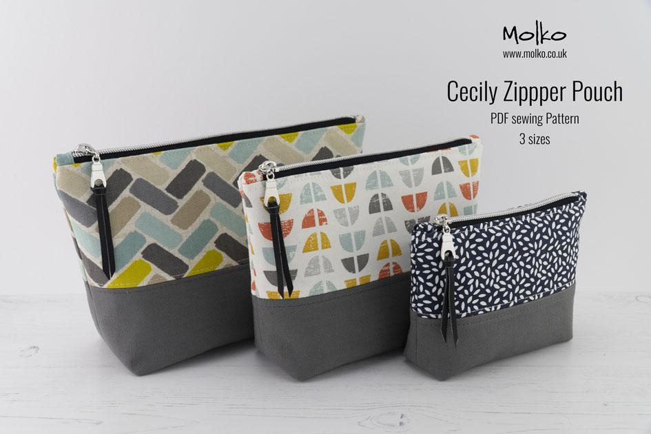 Cecily Zipper Pouch PDF Molko