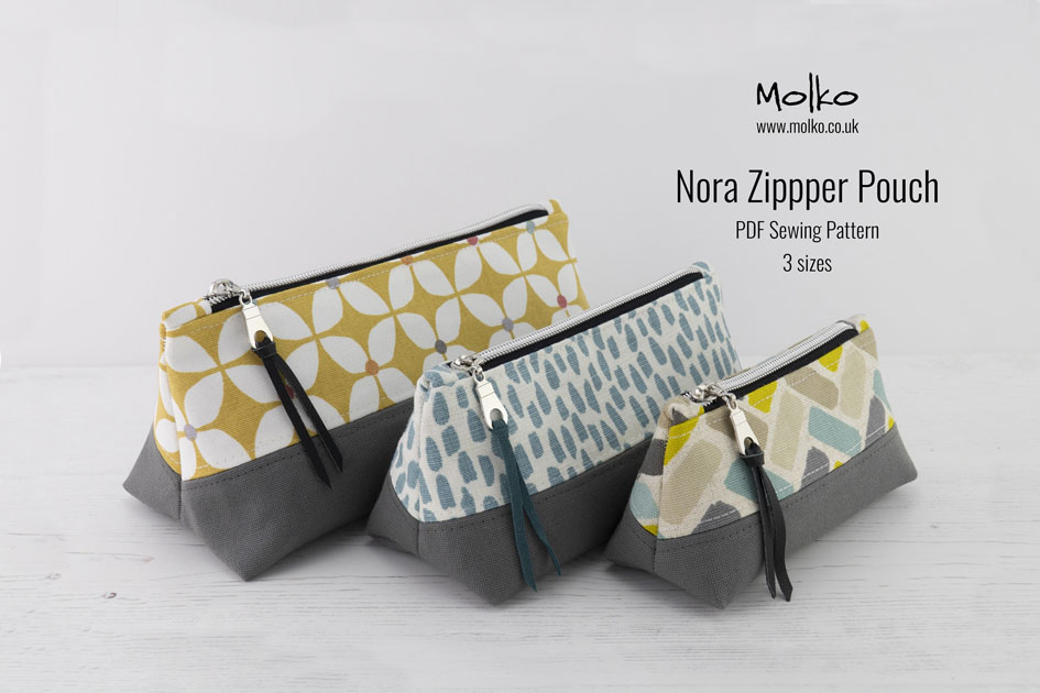 Nora Zipper Pouch PDF MOLKO