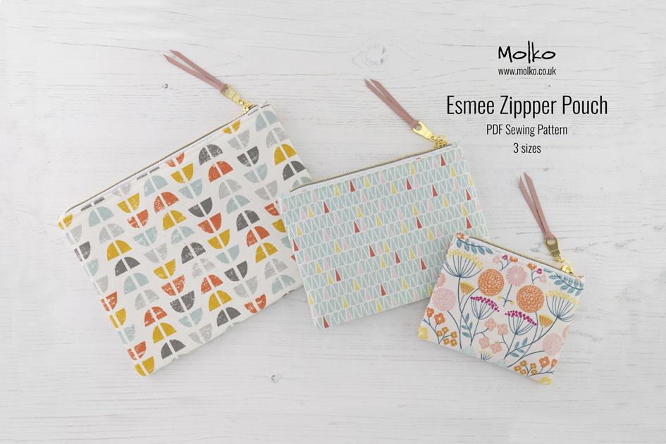 Esmee Zipper Pouch PDF MOLKO