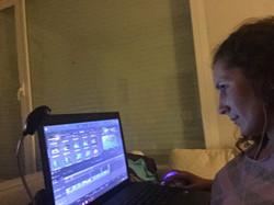 Editando el videoclip