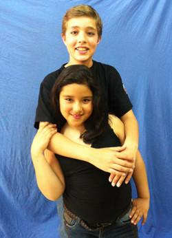 David Bisbal y Elena Gadel