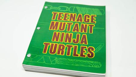 Teenage Mutant Ninja Turtles Limited Edition Signed Screenplay