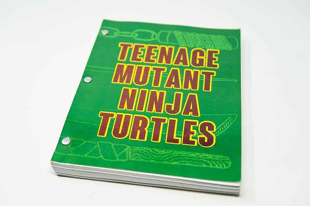 30th Anniversary signed TMNT Original Screenplay Limited Edition