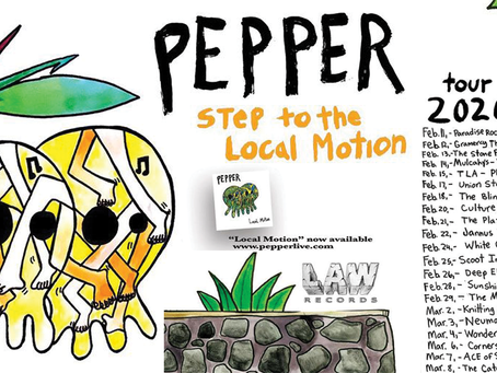Pepper on Tour