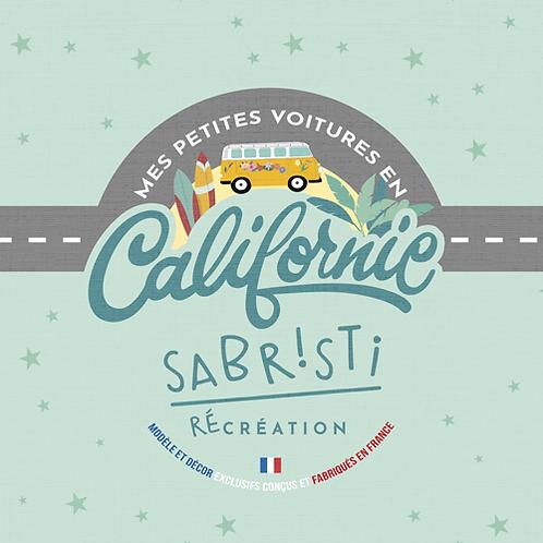 Tapis de jeu nomade - Mes petites voitures en Californie - Sabristi RéCréation