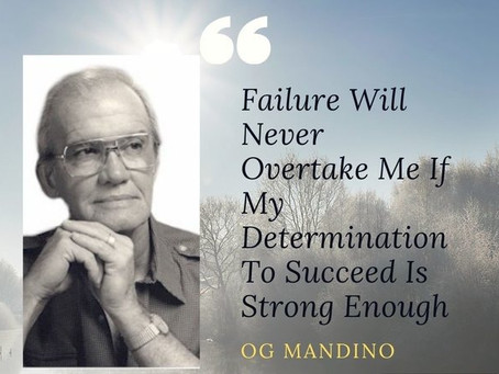 """The Greatest Salesman in the World"" by Og Mandino 