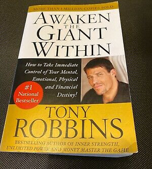 Awaken The Giant Within: Book by Tony Robbins | 7 mins read