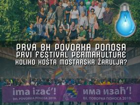 Drugo ime za slobodu #093 / Povorka ponosa / Festival permakulture / Koliko košta mostarska žarulja?