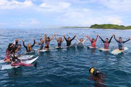Surf Getaways Maldives group