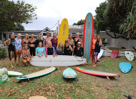 International Women's Day Surf Event – Clarkes Beach, Byron Bay