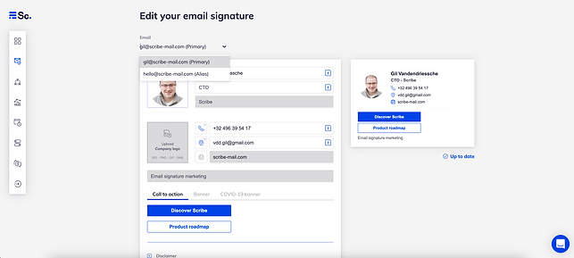 Examples of outstanding email signatures on Apple Mail