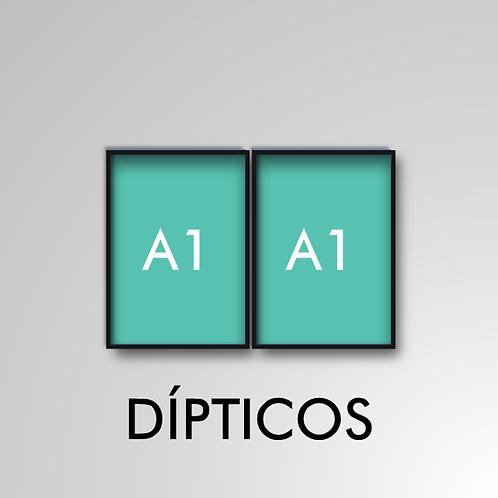 Díptico A1