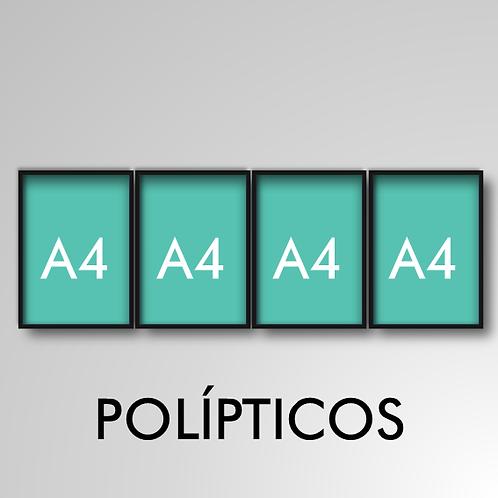 Políptico A4