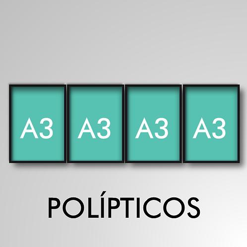 Políptico A3