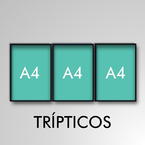 Tríptico A4