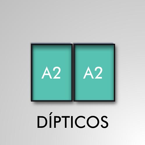 Díptico A2