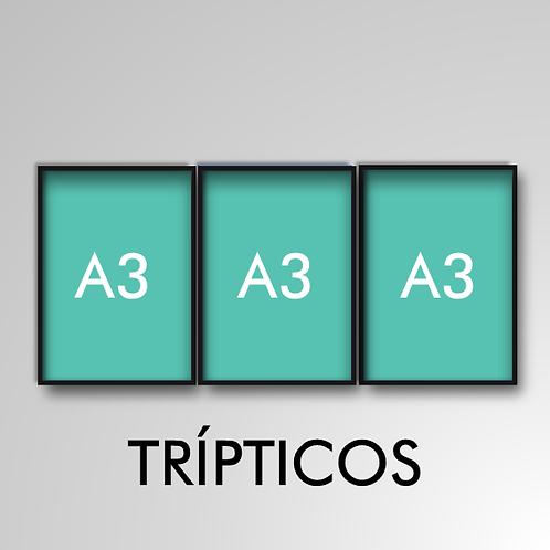 Tríptico A3