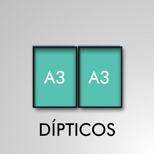 Díptico A3