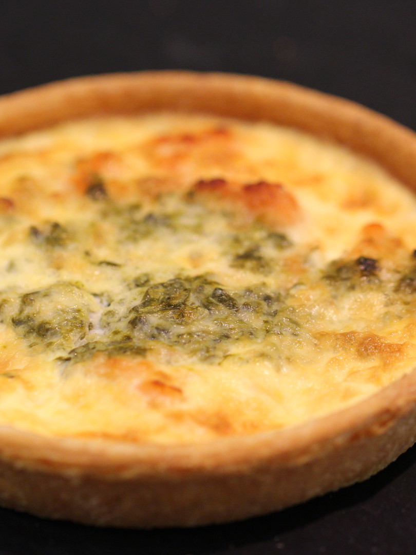 quiche saumon- clerc