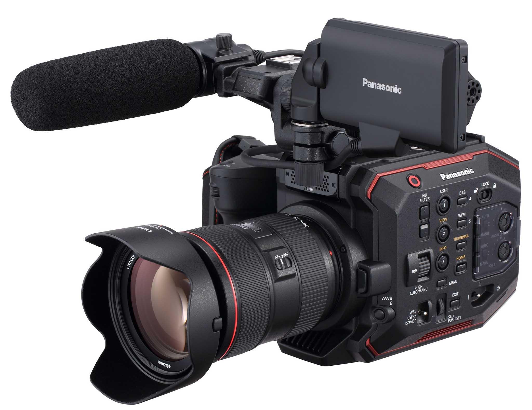 Presentazione Panasonic AU-EVA1