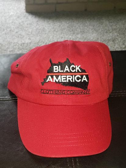 Floppy hat - red