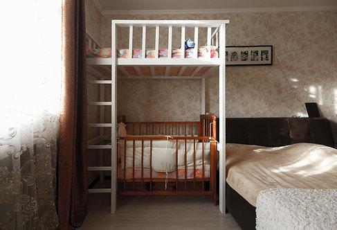 Кровать-чердак Кирюшка