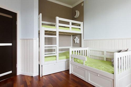Двухъярусная кровать Стёпка