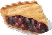"""No Sugar Added Cherry Pie (8"""")"""