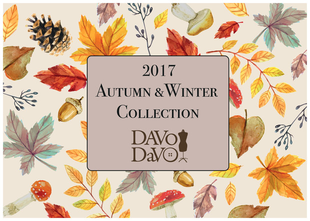 2017 Autumn &Winter collectionのお知らせ