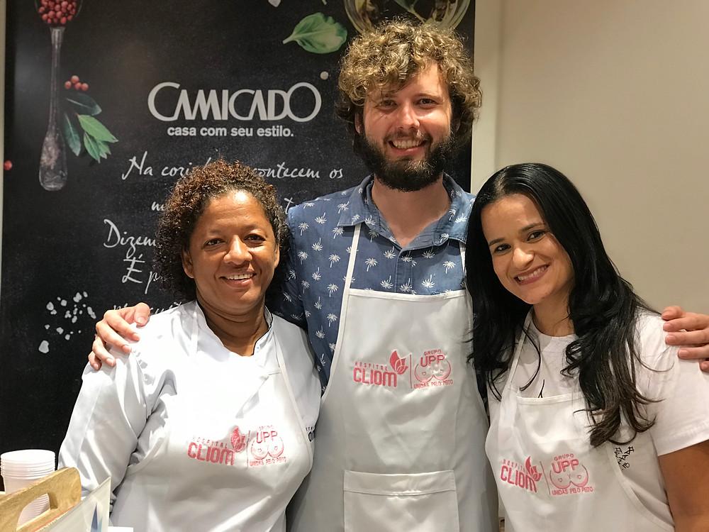 Paulo Quintella foi o Chef convidado para a última Vivência do CliomRosa2018