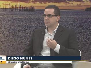 Cirurgião Oncológico do Cliom concede entrevista à TV Gazeta sobre câncer de cabeça e pescoço