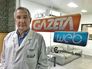 Oncologista do HospitalCliom fala sobre a relação entre álcool e câncer na Rádio Gazeta