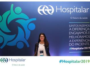 Enfermeira do Cliom participa damaior feira hospitalar da América Latina