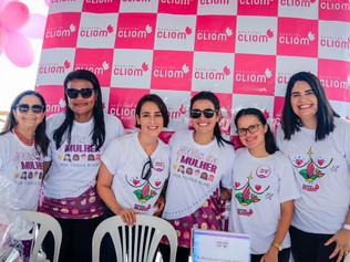 Hospital Cliom participa de ações da Prefeitura de Maceió voltadas para o mês da mulher