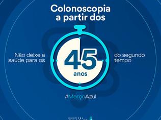 Campanha Março Azul do Cliom alerta sobre importância do rastreio do câncer colorretal