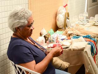 Hospital Cliom realiza bazar para expor artesanato de participantes do grupo UPP