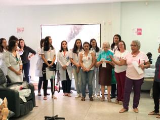 Grupo UPP realiza ação para pacientes oncológicos do Hospital Universitário