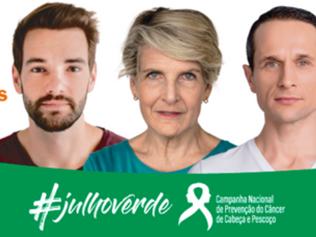 Campanha conscientiza sobre tumores de cabeça e pescoço