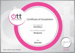 Hurtigruten Certificate.JPG