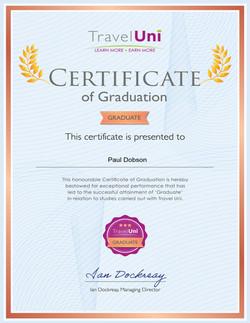 Travel Uni Graduate Certificate